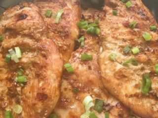 Delicious Korean grilled chicken breasts