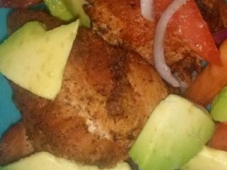 Easiest Way to Cook Perfect Lazy chicken breast salad