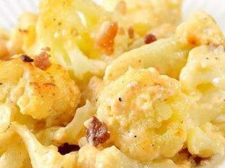 Keto Cauliflower Mac and Cheese 1