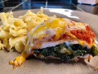 Recipe: Tasty Italian stuffed chicken breast