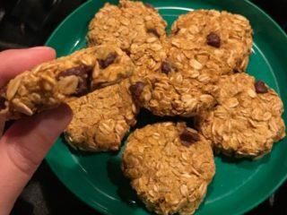 Healthy Pumpkin Oat Cookies 1
