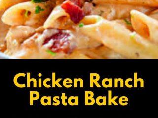 Chicken Ranch Pasta Bake (2)