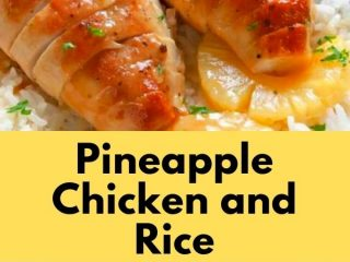 Pineapple Chicken and Rice (3)