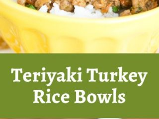 Teriyaki Turkey Rice Bowls 4