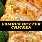 FAMOUS BUTTER CHICKEN DINNER