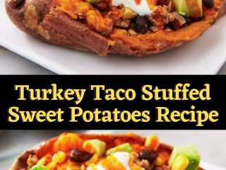 Turkey Taco Stuffed Sweet Potatoes Recipe (1)