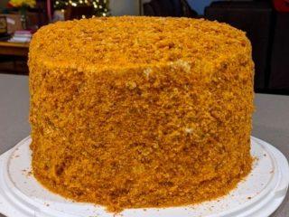 Delicious Russian Honey Cake