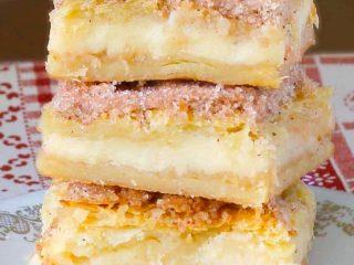 Delicious Sopapilla Cheesecake Bars