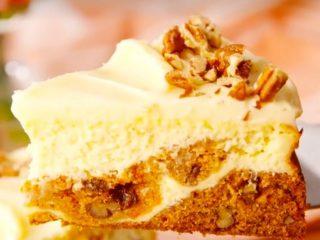Easy Carrot Cake Cheesecake Recipe