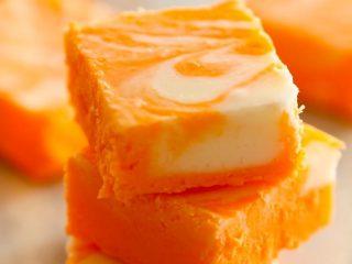 Easy Orange Creamsicle Fudge Recipe