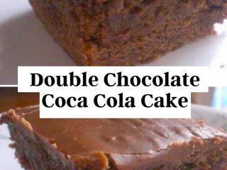 Easy Double Chocolate Coca Cola Cake Recipe