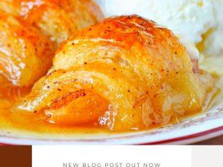 Easy Crescent Roll Apple Dumplings #Easy #Crescent #Roll #Apple #Dumplings