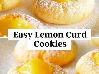 Easy Lemon Curd Cookies Recipe