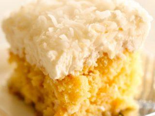 Easy and Moist Pina Colada Cake Recipe